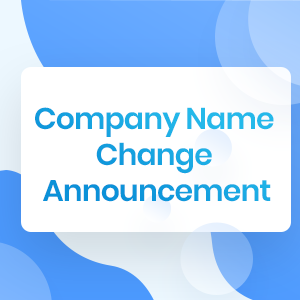 Company Name Change Announcement