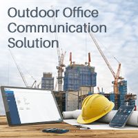Ursalink Works With Yeastar To Provide An Outdoor Office Communication Solution