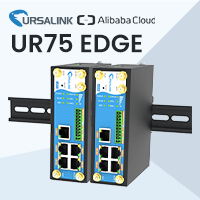 Ursalink UR75 Edge Computing Gateway Is Certified With Alibaba Cloud IoT