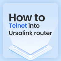 How To Telnet Into Ursalink Router