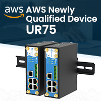 AWS Newly Qualified Devices – Ursalink UR75 Industrial Cellular Router