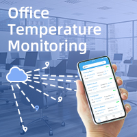 LoRa-Based Node-to-App Temperature Monitoring Solution In Ursalink Office