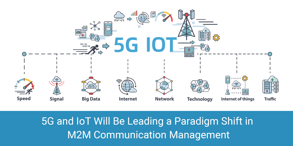 5G and IoT Will Be Leading a Paradigm Shift in M2M Communication