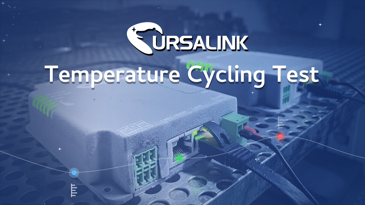 Temperature Cycling Test for UR32 Industrial Cellular Router