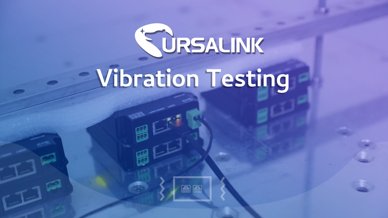 Vibration Testing for UR32 Industrial Cellular Router